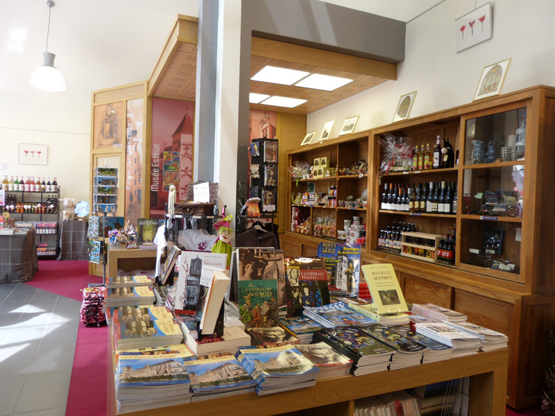 Boutique de l'office de tourisme de Bourges