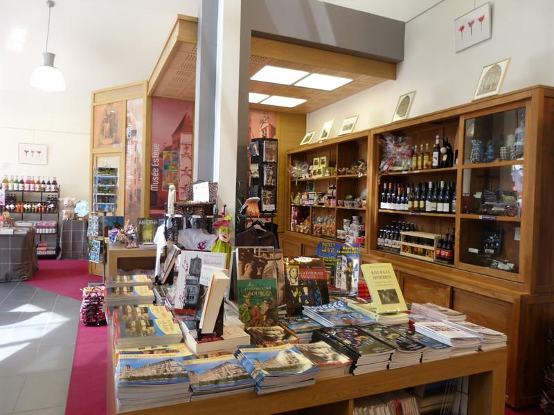 Boutique de l'office de tourisme de Bourges