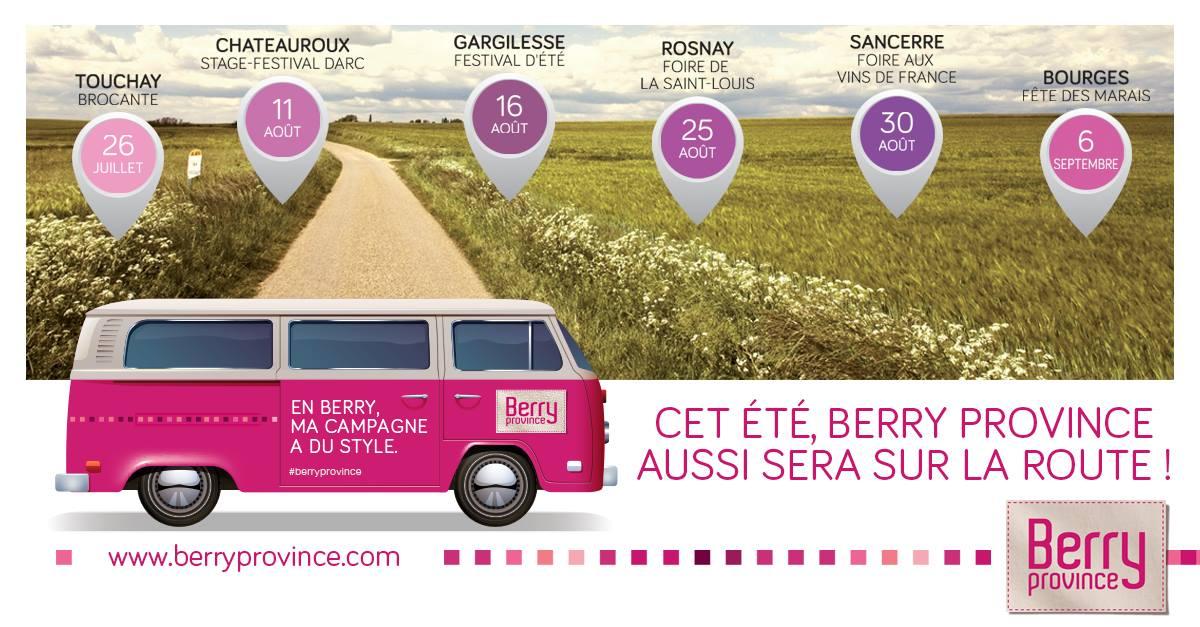 Tournée Berry Mobile