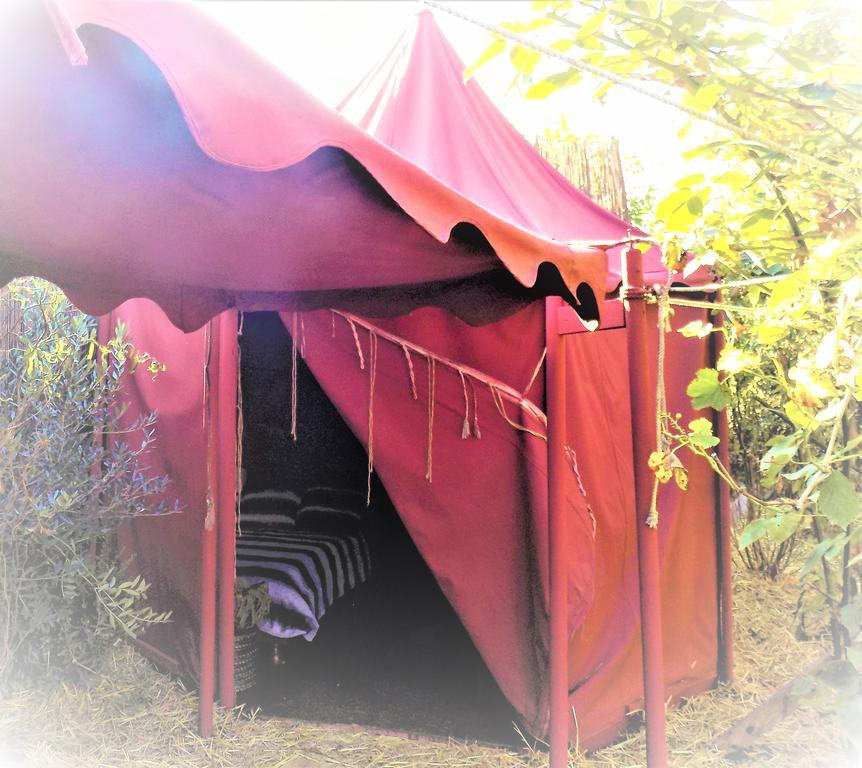 Le camp du chevalier - hébergement insolite - © Droits réservés