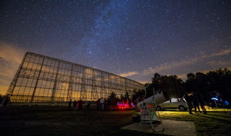 Observation du ciel - Pôle des Étoiles de Nançay