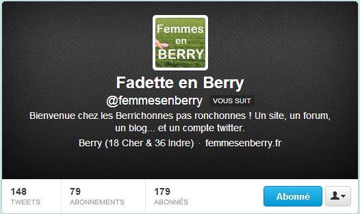 Femme en Berry