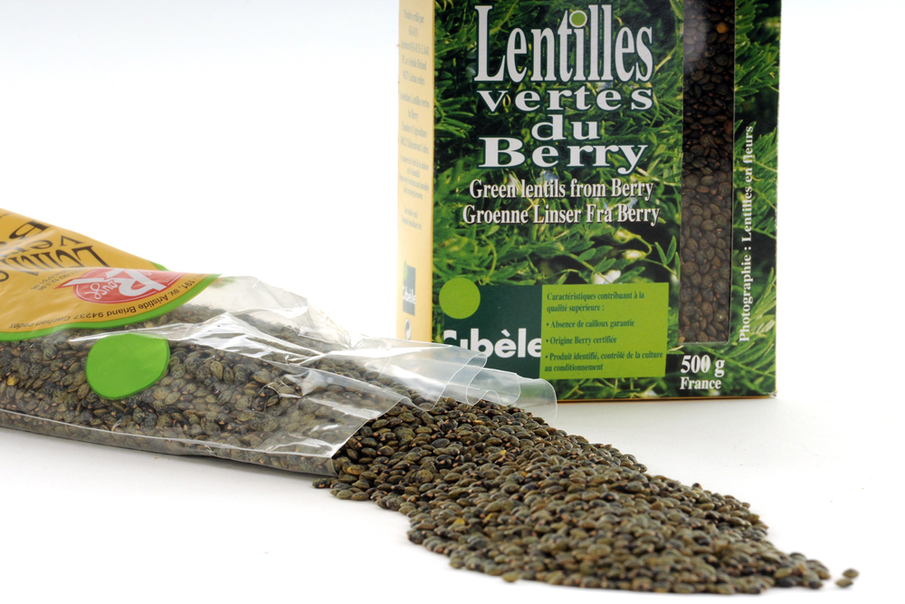 Lentilles vertes du Berry © AB photo-graphiste