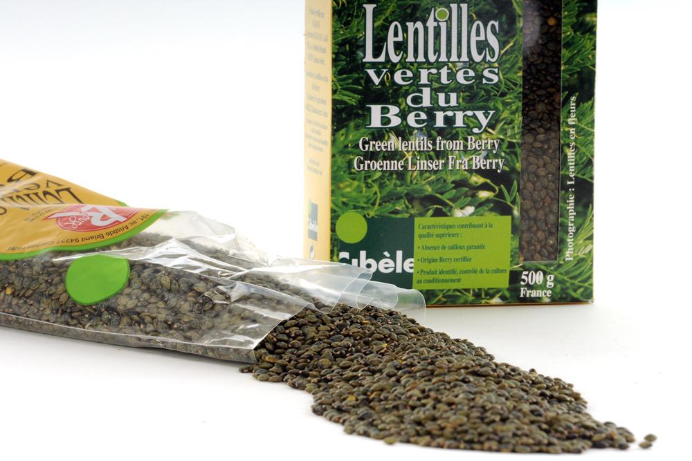 Lentilles vertes du Berry © AB photo-graphiste