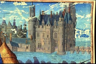 Le Château de Charles VII à Mehun-sur-Yèvre tel que vous pourrez bientôt le voir ! ©Ville de Mehun/Yèvre