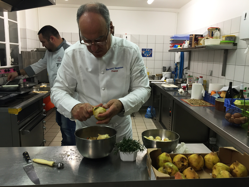 Le Chef Bernard Vaussion à Valençay © ADTI
