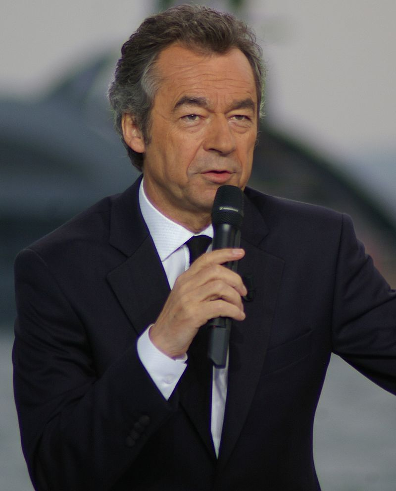Michel Denisot à Cannes en 2010