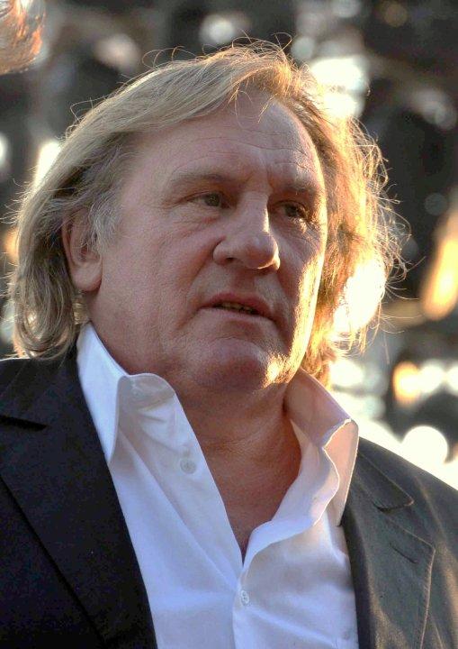 Gérard Depardieu à Cannes en 2010