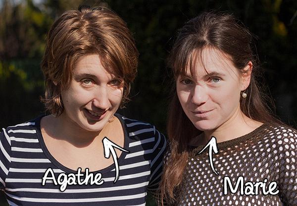 Agathe la parisienne et Marie la bretonne