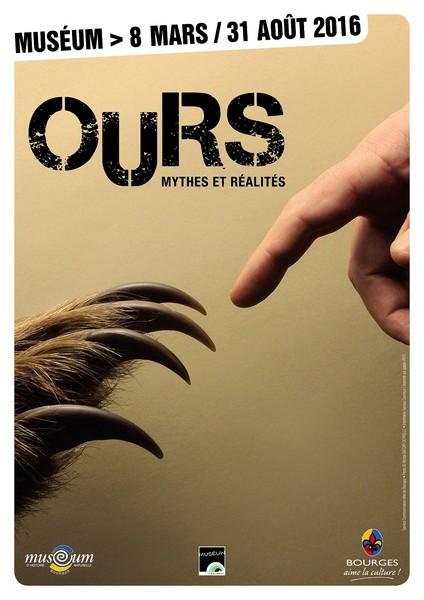 Exposition Ours Mythes et Réalités © Museum Naturel Bourges 2016