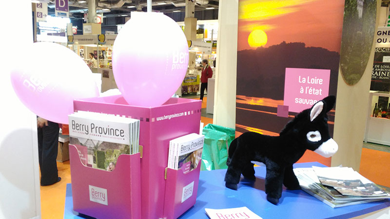Tobby sur le stand Berry Province