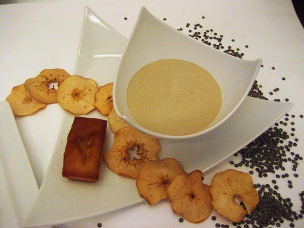 recette velout de lentilles vertes du berry la vanille berry province. Black Bedroom Furniture Sets. Home Design Ideas