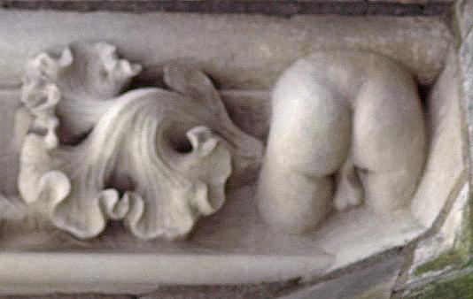 Les fameuses fesses de la Cathédrale de Bourges