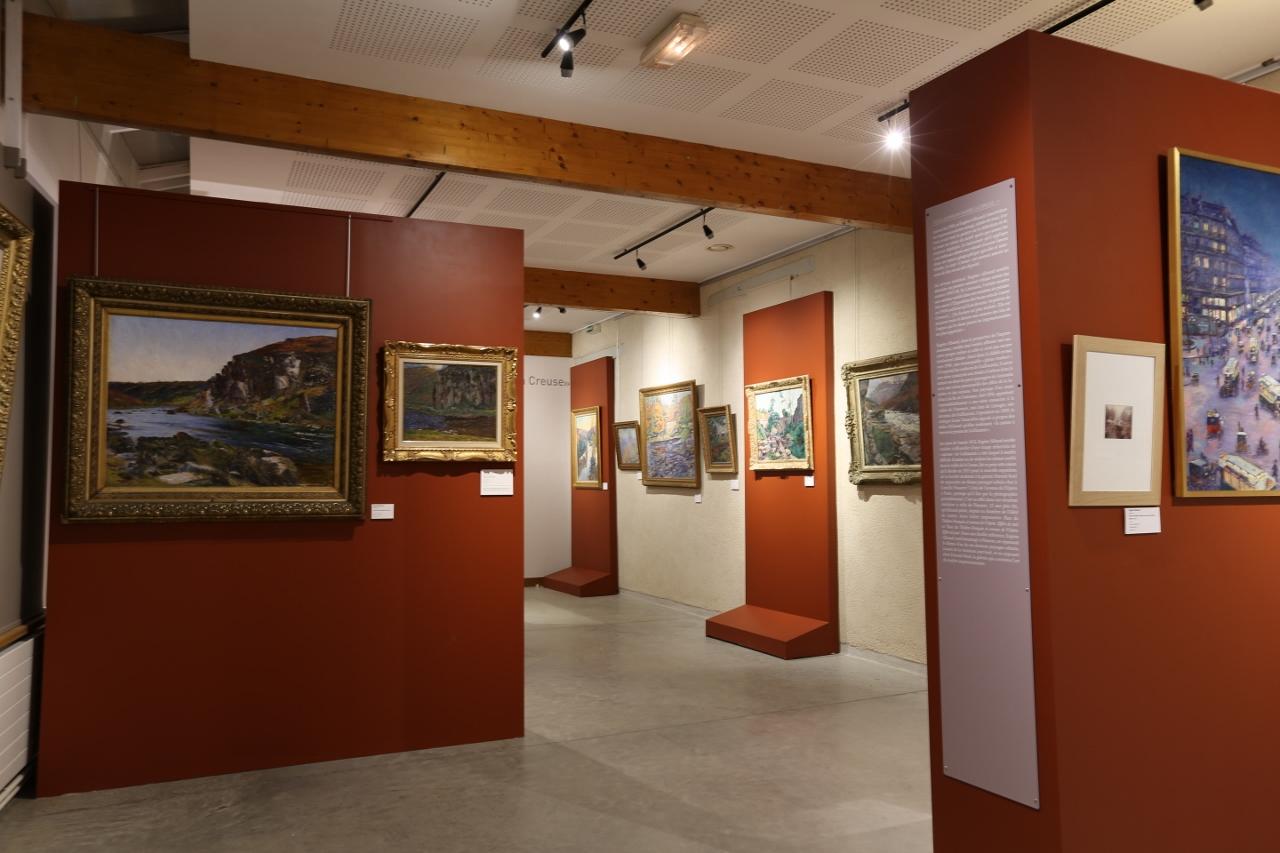 Exposition Eugène Alluaud au Musée d'Eguzon © Droits réservés