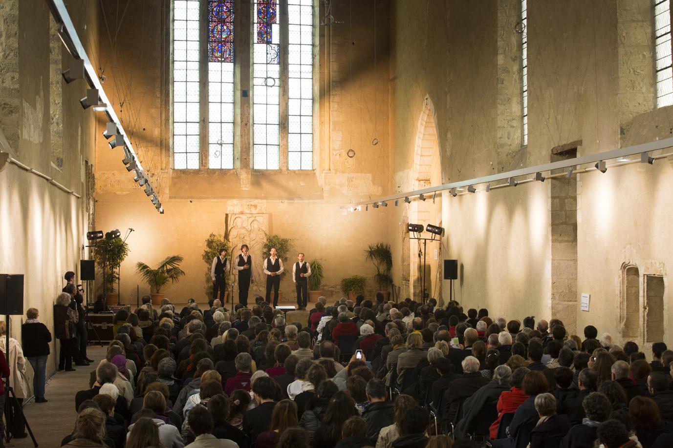 Festival de la Voix // Couvent des Cordeliers à Châteauroux © Hellio et Van Ingen