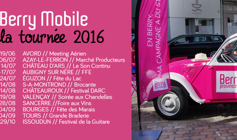 Tournée Berry Mobile