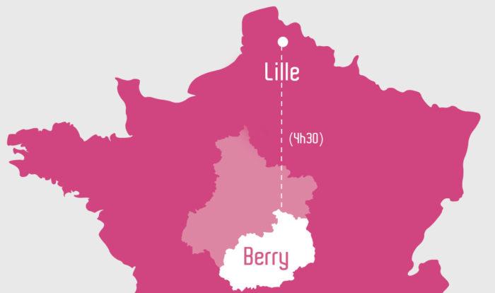 Lille - Bourges, pas si loin !