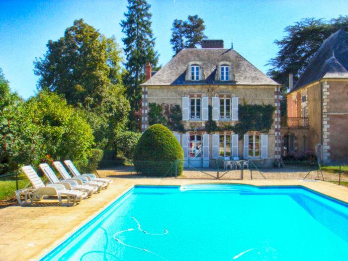 Chambres d'hôtes de la maison de Boisbriou ©GDF18