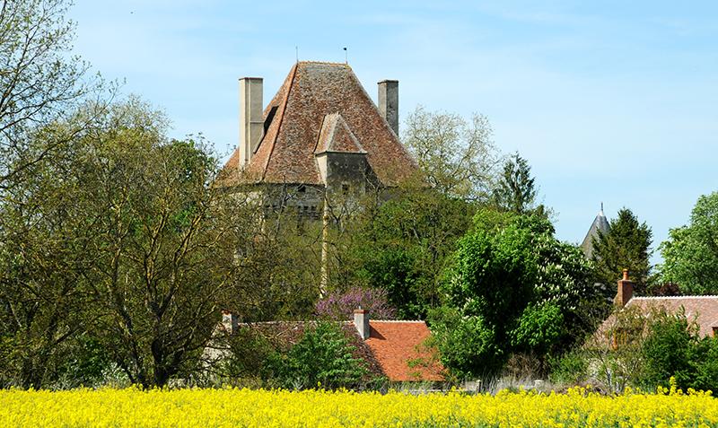 Château de Menetou-Couture ©Ad2T