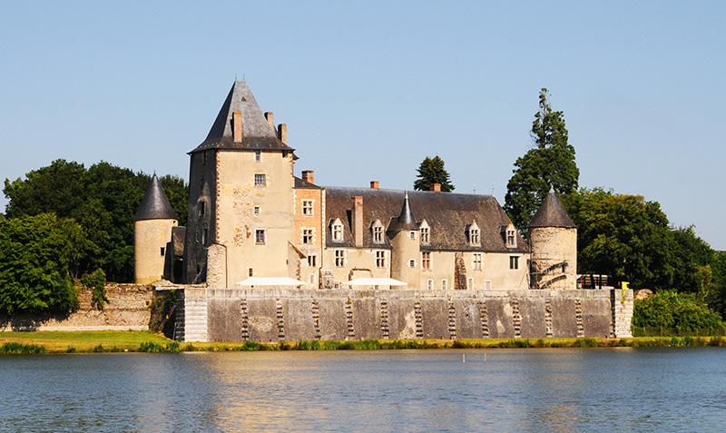 Château de la Chapelle d'Angillon ©Ad2T - P Régnier