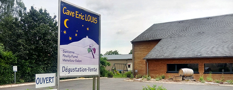 Visite de la Cave Éric Louis qui fait du Sancerre à Thauvenay ©Ad2T