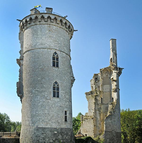 Château de Charles VII à Mehun-sur-Yèvre