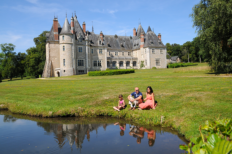 Château de la Verrerie ©Ad2T - Y. Rousset