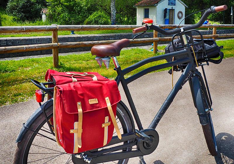 Avec un bon vélo, la Loire à Vélo sera un jeu d'enfant ©V. Laebens