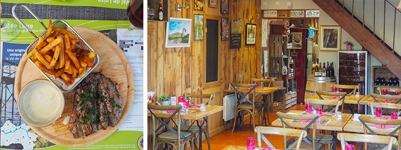 Restaurant la Crozet des Chemins à Beffes ©Ad2T - V. Laebens