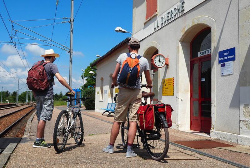 Gare de La Guerche-sur-l'Aubois ©Ad2T - N. Boccanfuso