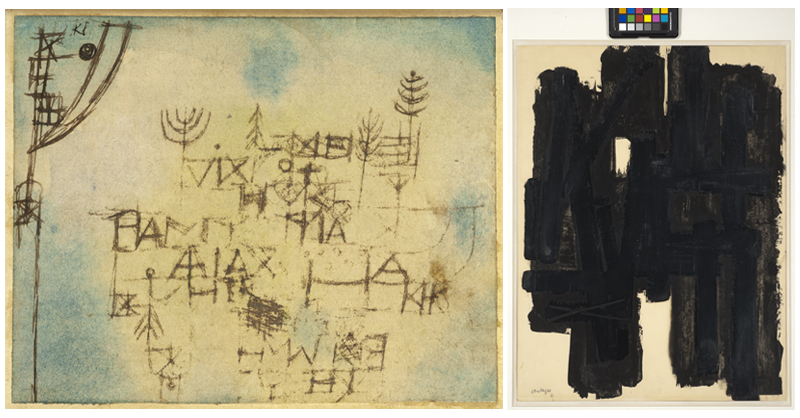 Soulages / Paul Klee