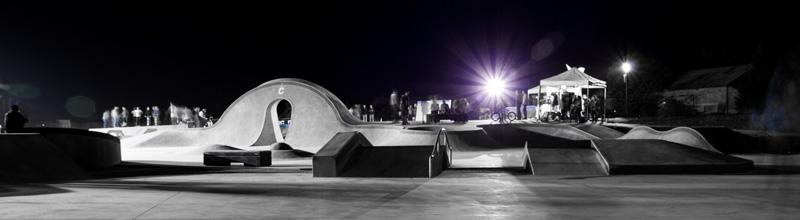 Le skate park de Châteauroux - © JM Surrand / Photoclub Belle-Isle