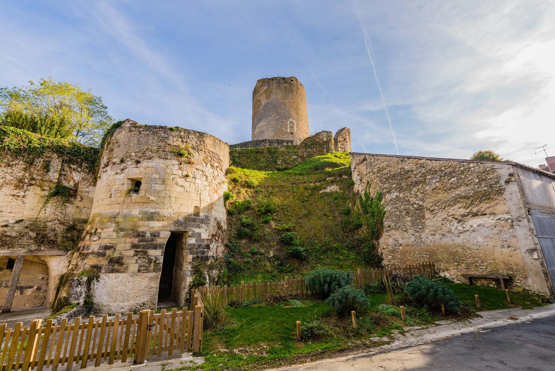Donjon de Châtillon-sur-Indre - © Teddy Verneuil