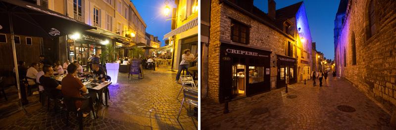 Sortir à Châteauroux, profiter des bars et restaurants dans la vieille ville l'été - © Hellio et Van Ingen