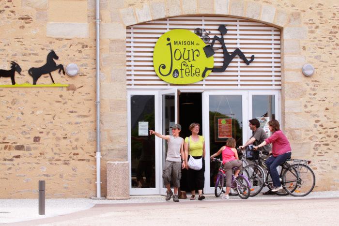 Maison de Jour de Fête à Sainte-Sévère-sur-Indre - © HVI