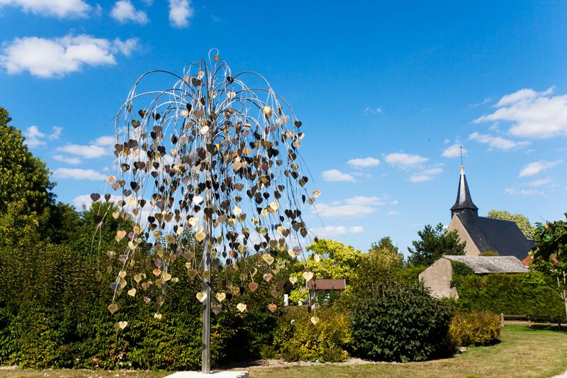 Jardin des amoureux à Saint-Valentin - © Hellio et Van Ingen