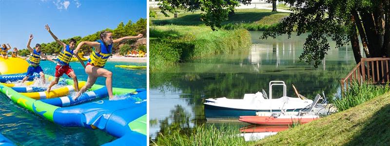 Aquaplouf et Bâteaux électriques d'Argent-sur-Sauldre ©DR
