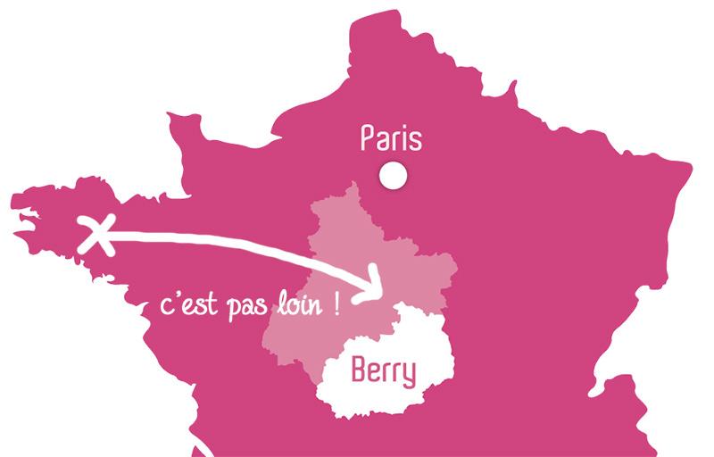 Le Berry, à 2 pas de la Bretagne !