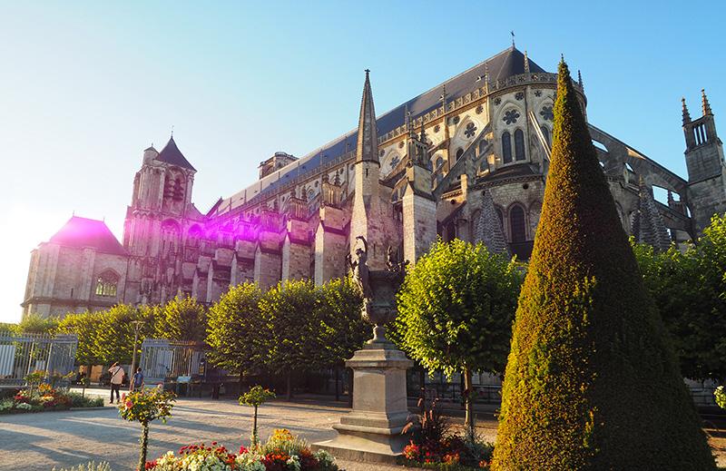 Cathédrale de Bourges ©Ad2T - V. Laebens