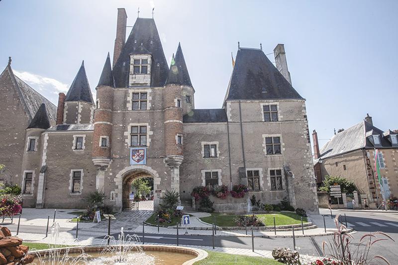 Château des Stuarts à Aubigny-sur-Nère ©A. Gressin