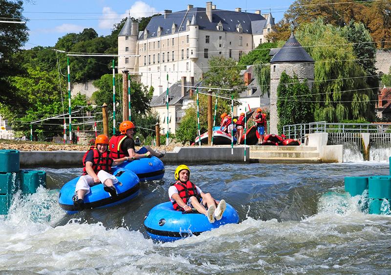 Complexe d'eaux-vives de Châteauneuf-sur-Cher ©Ad2T - P. Régnier