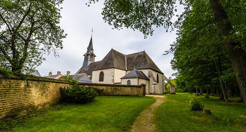 Église de Nancay en Sologne ©Teddy Verneuil