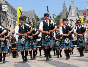 Fêtes franco-écossaises d'Aubigny-sur-Nère ©Ad2T - Y. Rousset