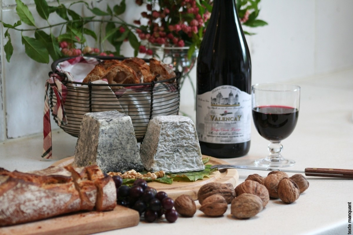 Valençay, son vin AOC et fromage AOP - © ADTI