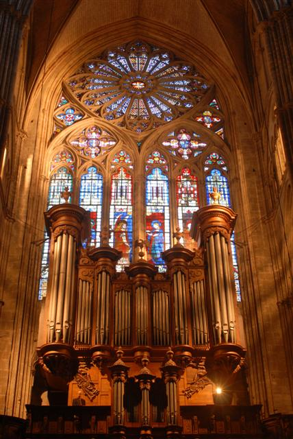 Grand Orgue de la Cathédrale de Bourges - © Les Amis du grand Orgue