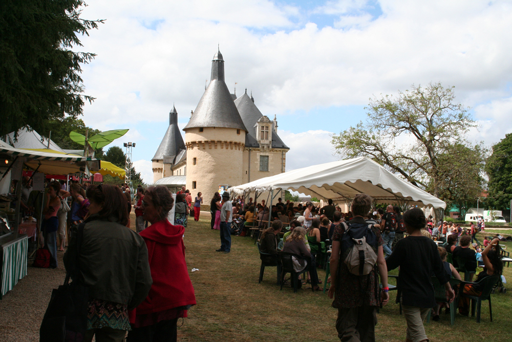 Le Son Continu, parc du château d'Ars