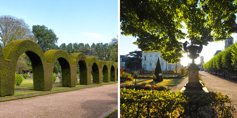 Jardins des Pré-Fichaux et de l'Archevêché à Bourges ©Ad2T