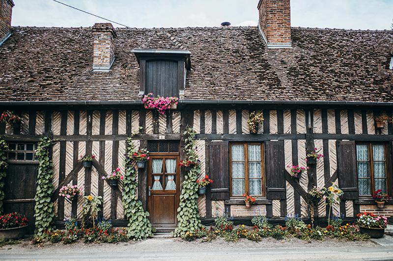 Maison traditionnelle de Sologne ©J. Sarperi