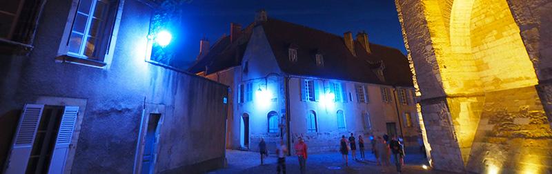 Nuits lumières de Bourges ©Ad2T - V. Laebens