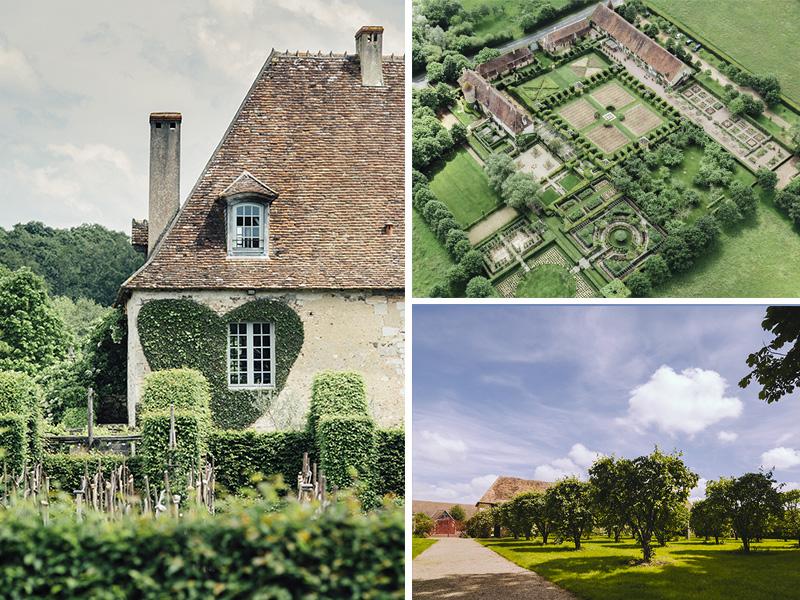 Prieuré d'Orsan et Jardin de Drulon © Gillard & Vincent